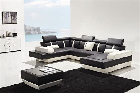 modern leather sofa sectional t286 modern leather sectional sofa