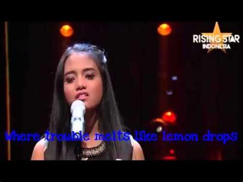 download mp3 hanin dhiya somewhere over the rainbow voting tertinggi rising star videolike