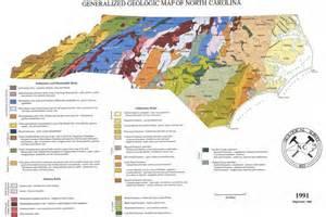geologic map of carolina history geography