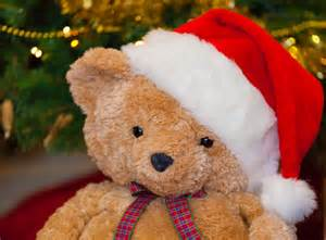christmas teddy bear free stock photo public domain pictures