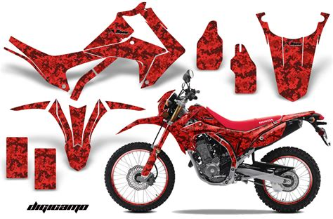 motorcycle graphics templates honda crf250l enduro graphic stickers and decals honda