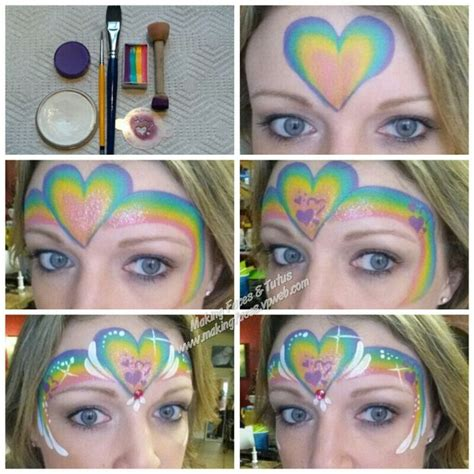 watercolor tutorial face 91 best my face painting designs and tutorials images on
