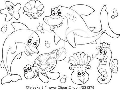 printable ocean animal coloring pages coloring coloring pages and animal coloring pages on
