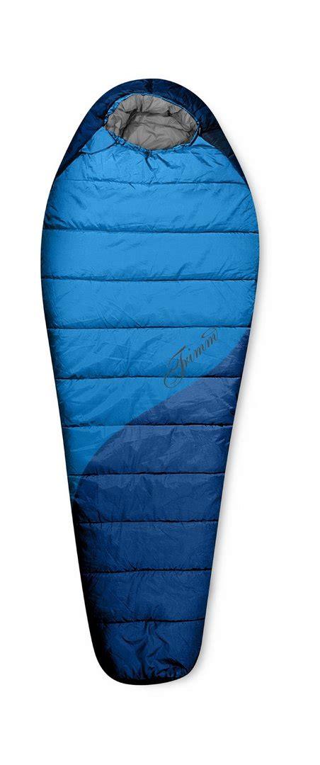 trimm outdoor outdoor schlafsack trimm blau mumienschlafsack