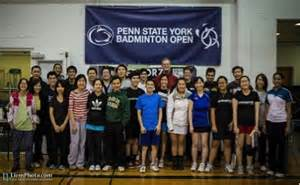 younger audience with educational event penn state university penn state york badminton open
