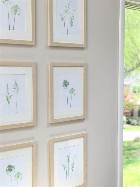 gallery wall inspiration make this diy symmetrical gallery wall the greenspring home