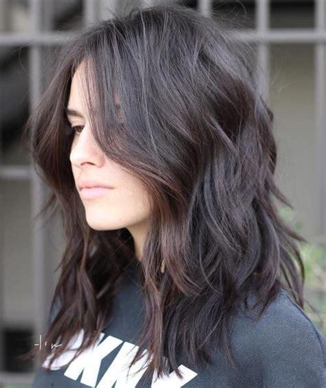 medium length choppy hairstyles 70 brightest medium length layered haircuts and hairstyles