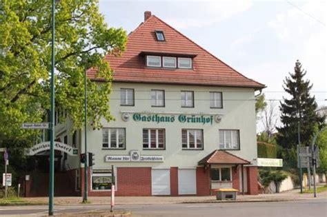 gasthaus in frankfurt gasthaus hotel gr 252 nhof august bebel str 54 15234