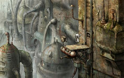 machinarium puzzle point  click adventure sci fi