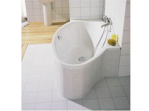 european steel enamel bathtub articles with tub corner splash guard lowes tag cozy