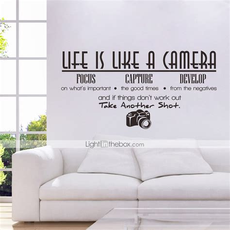decorative decals for home words quotes wall stickers plane wall stickers