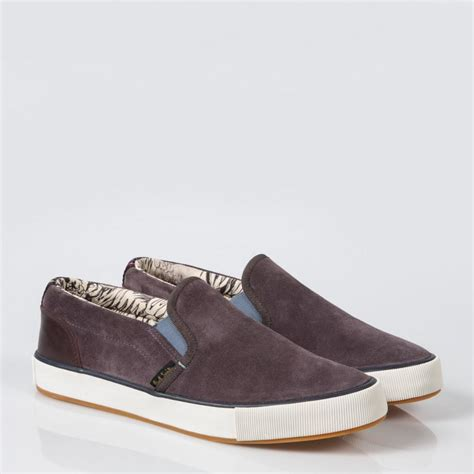 Nike Smith Suede Slip On Abu paul smith brontis suede slip on sneakers in purple for lyst