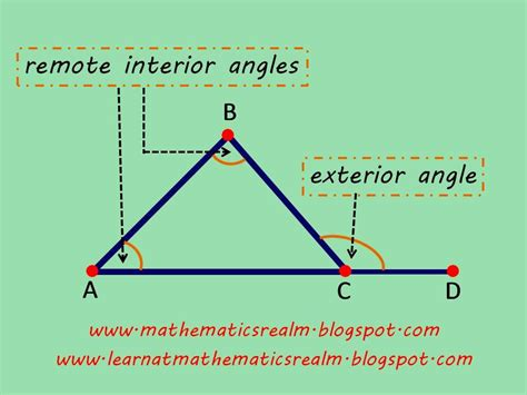 Interior Triangle Angles by Learn At Mathematics Realm