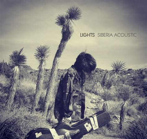 Siberia Lights lights siberia acoustic album cover neon limelight exclusive news artist interviews