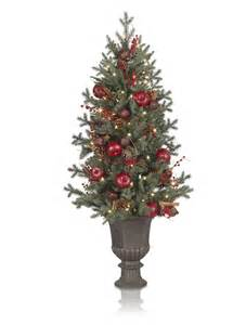 4 balsam hill heritage spice artificial christmas tree