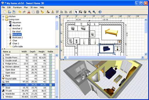 software para dise 241 o de interiores sweet home 3d