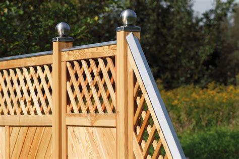 Gartenzaun Holz Sichtschutz Haus Design Ideen