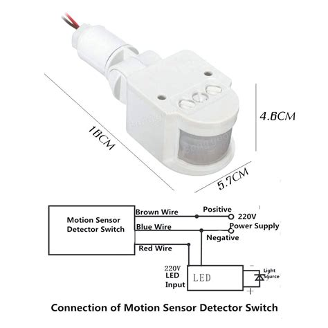 motion sensor light parts diagram motion sensor light switch wiring diagram