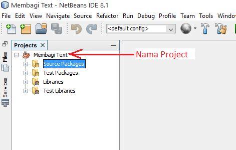 cara membuat database di xp v3 2 1 1 pastikan anda sudah membuat sebuah project java baru di