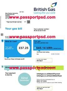 uk utility bill template uk utility bill psd template passportpsd