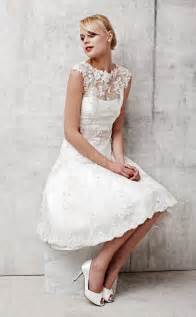 short a line wedding dress with short sleeves sang