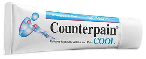 Counterpain 30 G X 1 taisho pharmaceutical products contact information