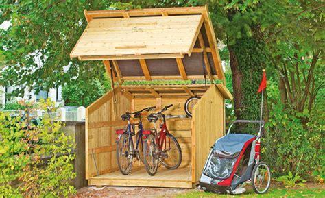 Motorradgarage Selber Bauen by Fahrradbox Selber Bauen Selbst De