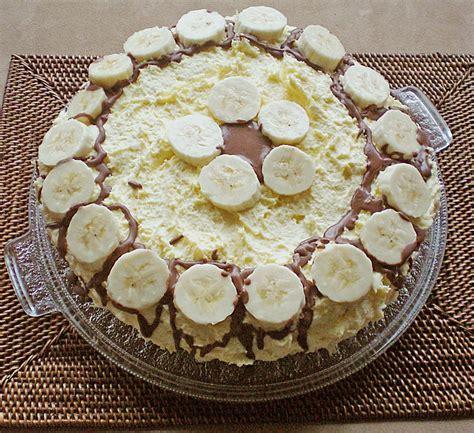 bananen sahne kuchen bananen sahne kuchen rezept mit bild henriettinchen