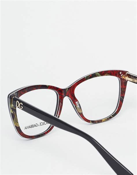 Frame Kacamata Wanita Dolce Gabbana dolce gabbana dolce gabbana d frame glasses at asos