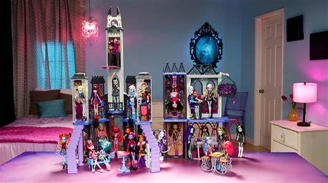 monster high high school doll house monster high deadluxe high school play set shop