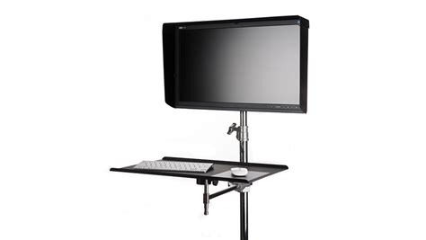 Bracket Stand 1 Monitor rock solid vesa studio monitor mount for stands tether tools