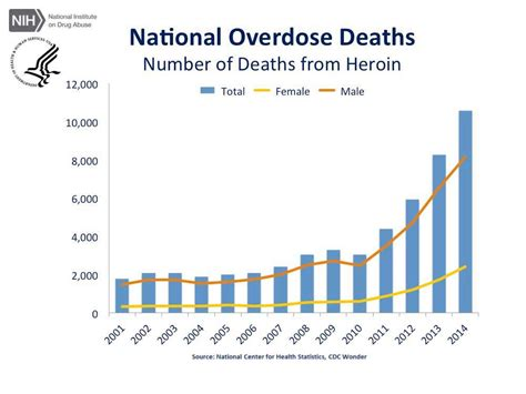 Total Number Of Mba Colleges In Usa by Overdose Rates National Institute On Abuse Nida