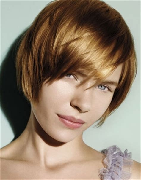Aveda Short Hair Cuts   straight layered hair styles