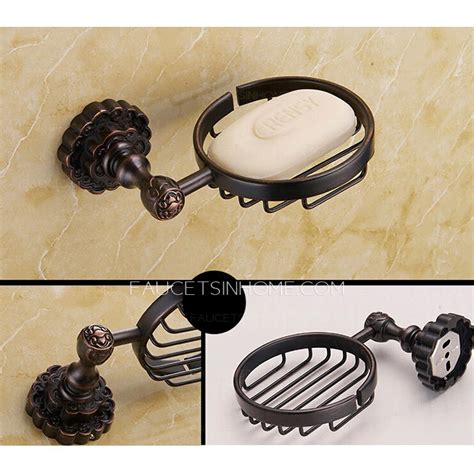 vintage bathroom accessories sets 5 vintage rubbed bronze carved bathroom