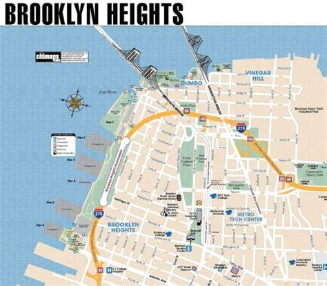 Brooklyn Heights Promenade Bike Map   Maplets