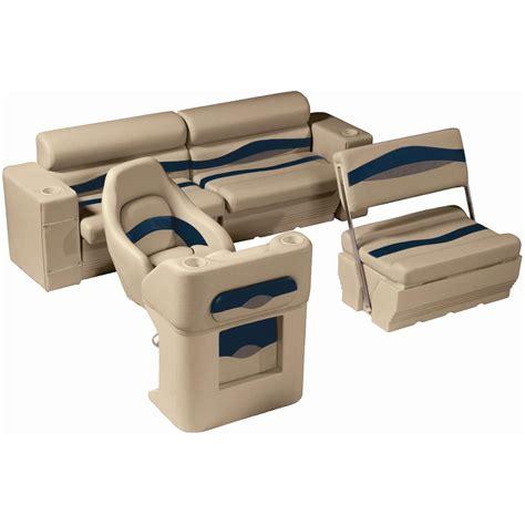 pontoon furniture sets wise 174 premier pontoon traditional rear seat group 291845