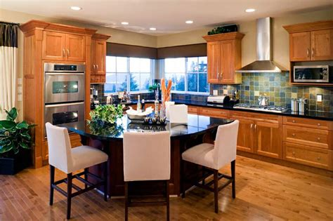 home design living room kitchen island table 44 kitchens with double wall ovens photo exles