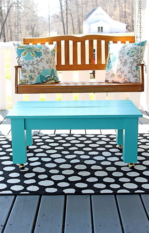 coffee table bench diy easy farmhouse style diy coffee table