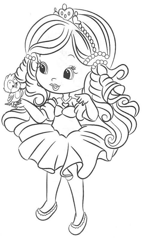 imagenes infantiles tiernas para colorear dibujos de mu 241 ecas lindas para colorear imagui