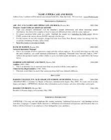 Management Objectives Resume by Manager Resume Sle