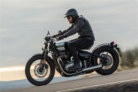 Motorrad Test Chopper by Triumph Bonneville Bobber Im Test Motorrad Tests