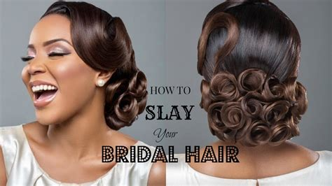 www weddinghairstylewithbrizilla how to slay your bridal hair ft charis hair youtube
