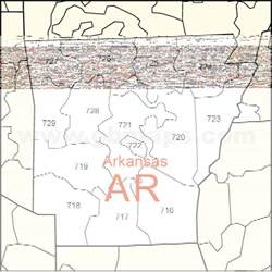 Arkansas Zip Code Map by Map Of Arkansas With Zips Pictures To Pin On Pinterest