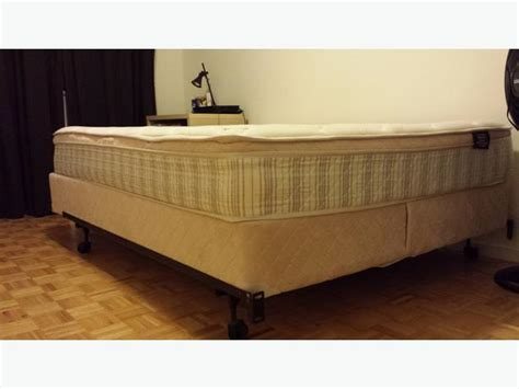 Sears Bed Frame Sears Mattress Box And Bed Frame Used For 14 Months Only Nepean Ottawa