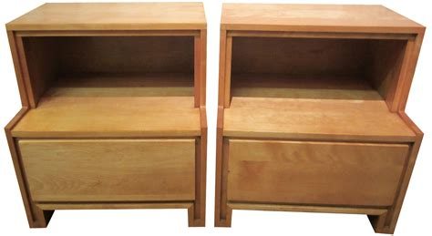 russel wright nightstands a pair chairish