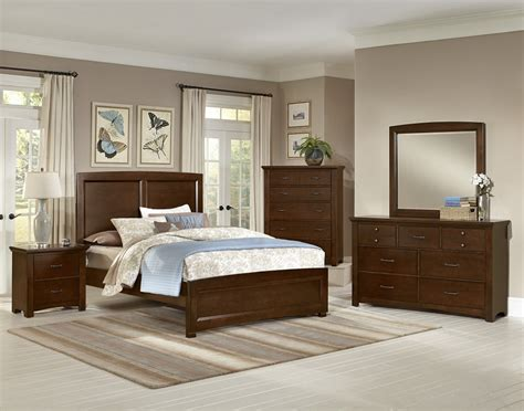 Transitions Cherry Panel Bedroom Set From Virginia House Bedroom Furniture Virginia