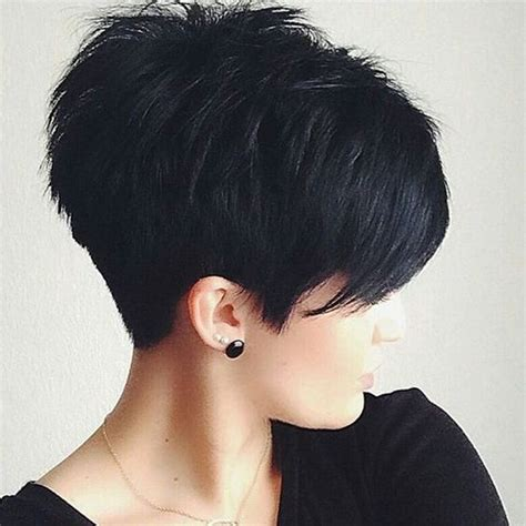 medium hair freeze style 18 simple easy short pixie cuts for oval faces short