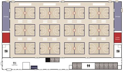 basketball floor plan floor plans renderings lakepoint sports