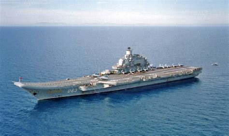 airplane carrier pin kiev class carrier on