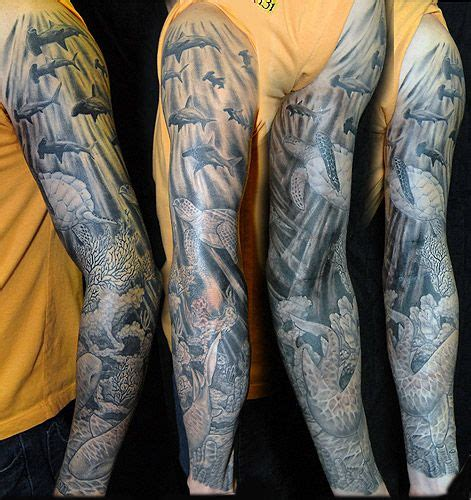 tattoo care hot water underwater sleeve and what i want on pinterest